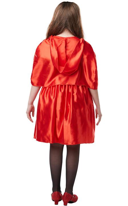 Girls Red Riding Hood Costume Kids school book week Fairytale Fancy Dress Outfit Thumbnail 4