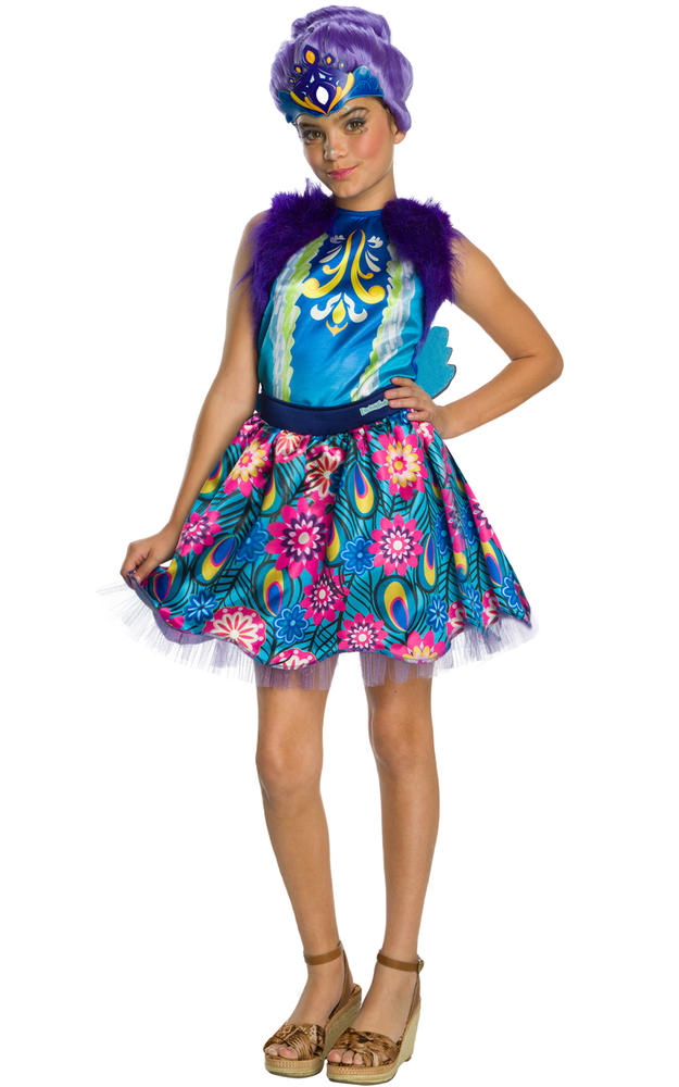 Patter Peacock Enchantimals Girl's Costume