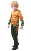 Aquaman Marvel Boy's Costume Kids Fancy Dress Outfit DC comics hero Licensed