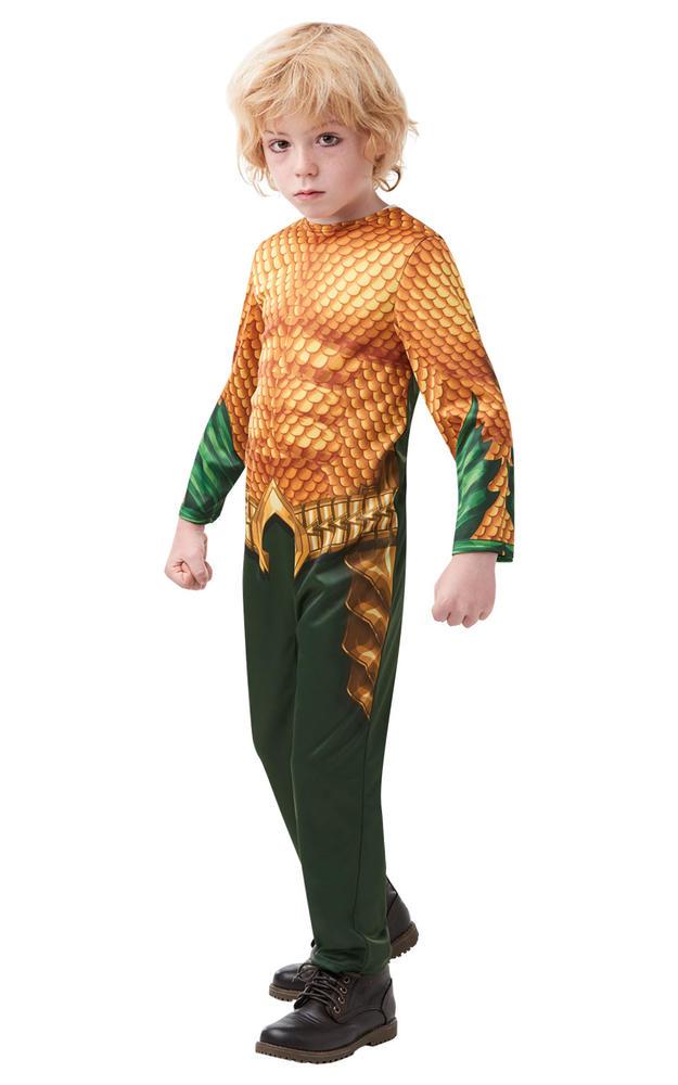Aquaman Marvel Boy's Costume