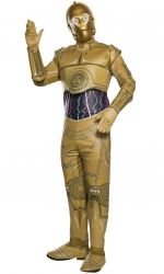 C-3PO Star Wars Disney Men's Thumbnail 1