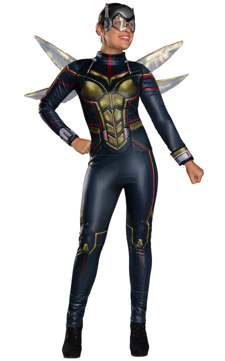 Wasp Marvel Women's Fancy Dress Thumbnail 1