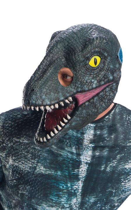Velociraptor Blue Jurassic World Men's Costume Thumbnail 2
