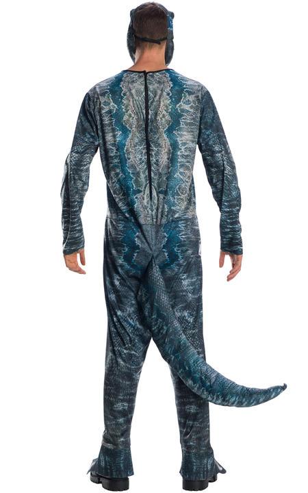 Velociraptor Blue Jurassic World Men's Costume Thumbnail 3