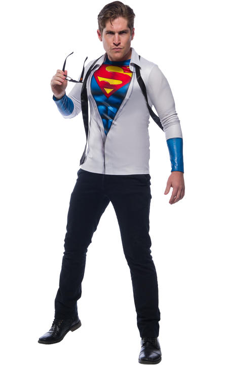 Superman Photoreal Costume Top Thumbnail 1