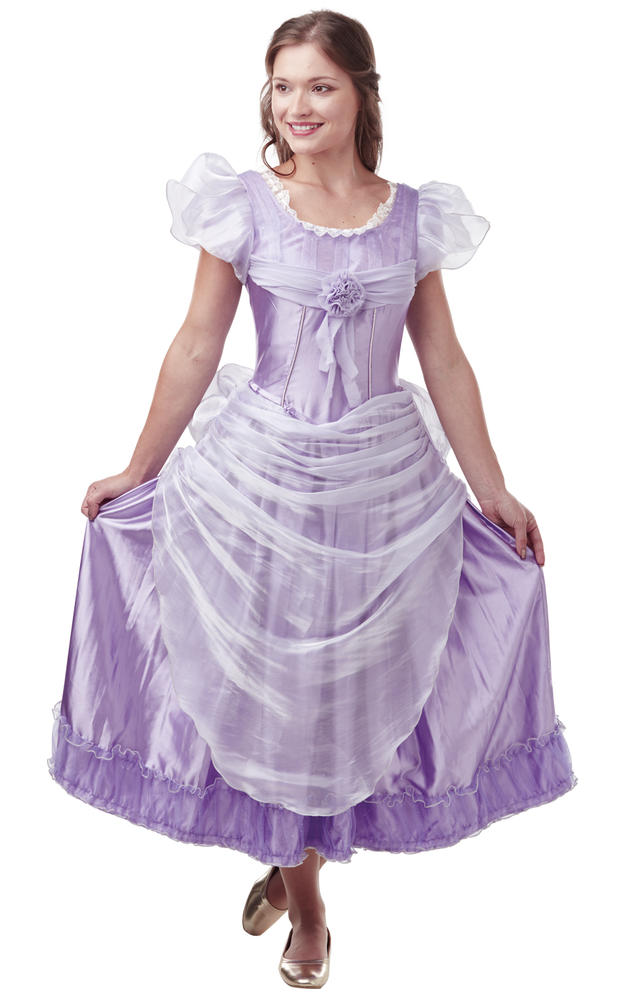 Clara Lavender Disney Womens Costume Ladies Fancy Dress Outfit Nutcraker