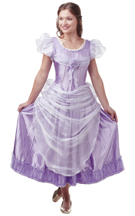Clara Lavender Disney Womens Costume Ladies Fancy Dress Outfit Nutcraker  Thumbnail 1