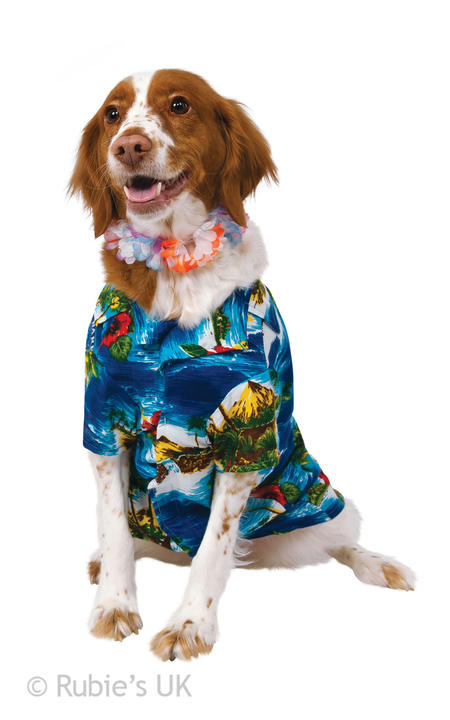 Luau Dog Costume Thumbnail 1