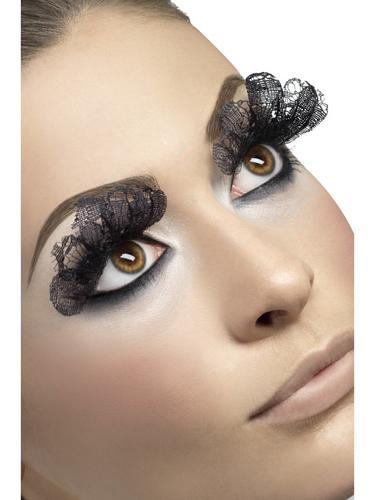 Eyelashes, Large, Black Lace Thumbnail 1