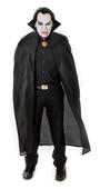 "56"" Polyester Dracula Cape. Black"