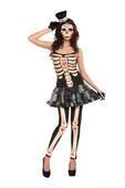 Day Of The Dead Tutu Dress Women's Costume