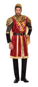 Crusader Knight Men's Costume  Red