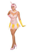 Clown Womens Costume Ladies Circus Showman Fancy Dress Outfit Dressup Comedy