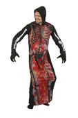 Skeleton On Fire Costume