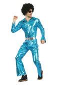 Disco Jumpsuit Men's Costume