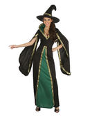 Witch Medieval Style Women's Costume