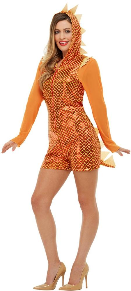 Dragon Womens Costume Ladies Fancy Dress Outfit Animal Knight Story Book Week