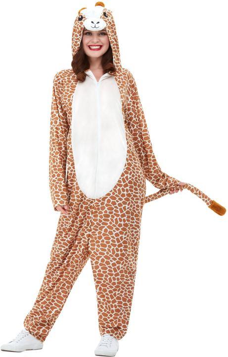 Giraffe Adults Costume Thumbnail 2