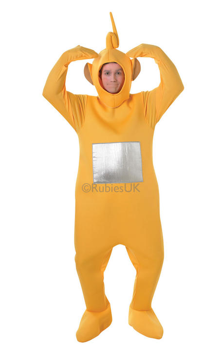 Laa Laa Teletubbie Costume Thumbnail 1