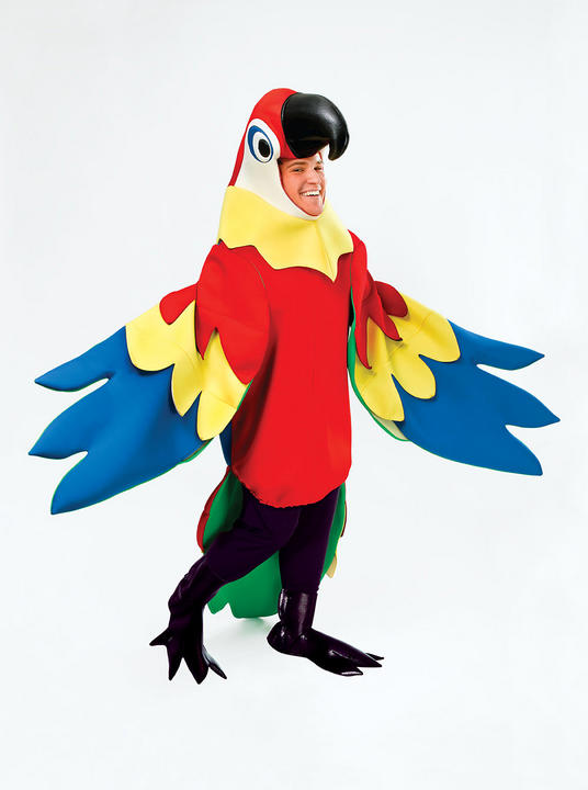 Adult Parrot Costume Thumbnail 1