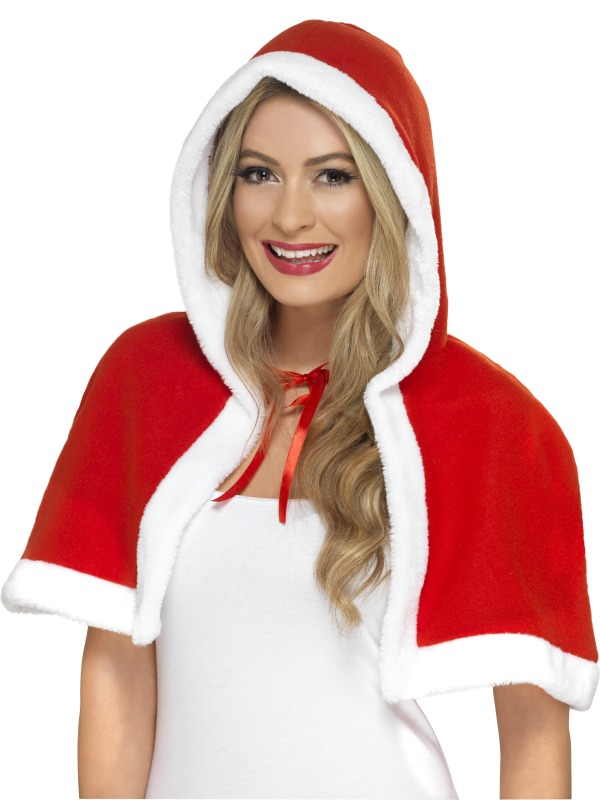 Miss Claus Mini Cape
