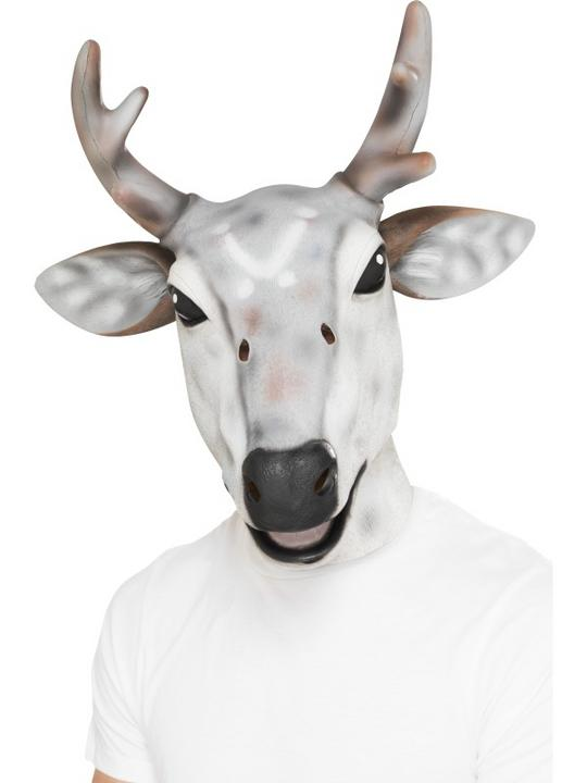 Reindeer/Stag Latex Mask Thumbnail 1