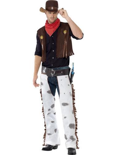 Cowboy Costume Brown Thumbnail 1