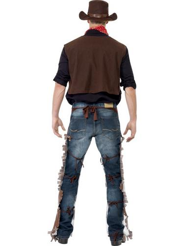 Cowboy Costume Brown Thumbnail 2