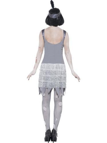 Zombie Flapper Dress Costume Thumbnail 3