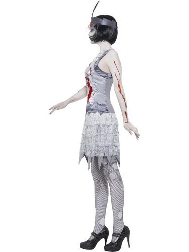 Zombie Flapper Dress Costume Thumbnail 4