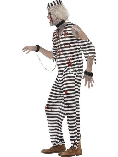 Adult Zombie Convict Costume Thumbnail 3