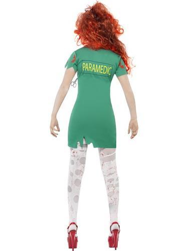 Zombie Scrub Nurse Costume Thumbnail 2