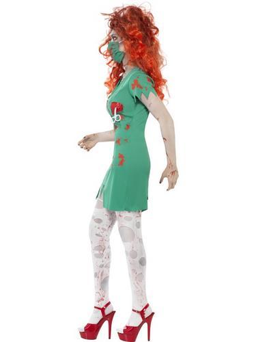 Zombie Scrub Nurse Costume Thumbnail 3