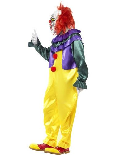 Classic Horror Clown Costume Thumbnail 3