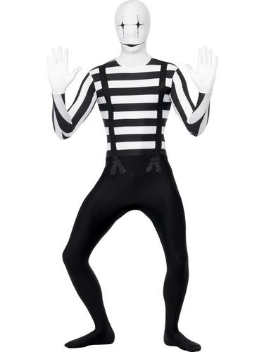Mime Second Skin Costume Thumbnail 1