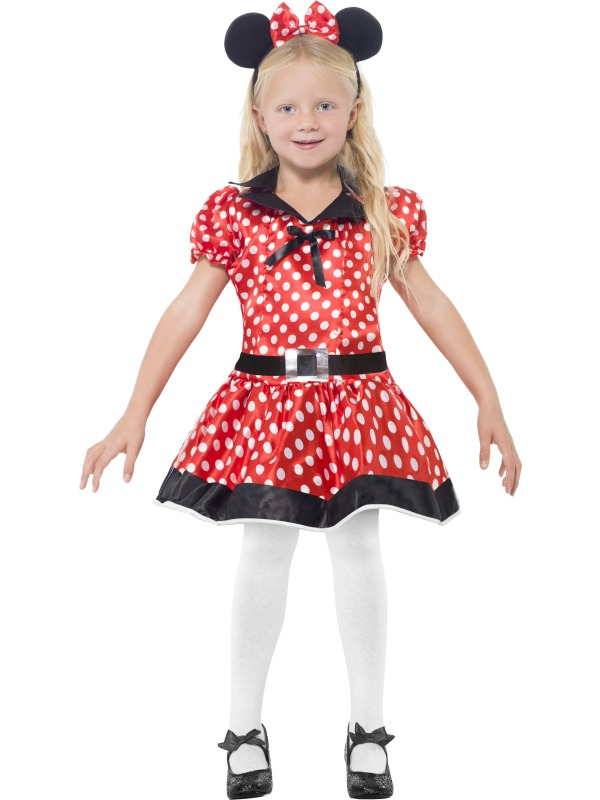Girls Cute Mouse Costume