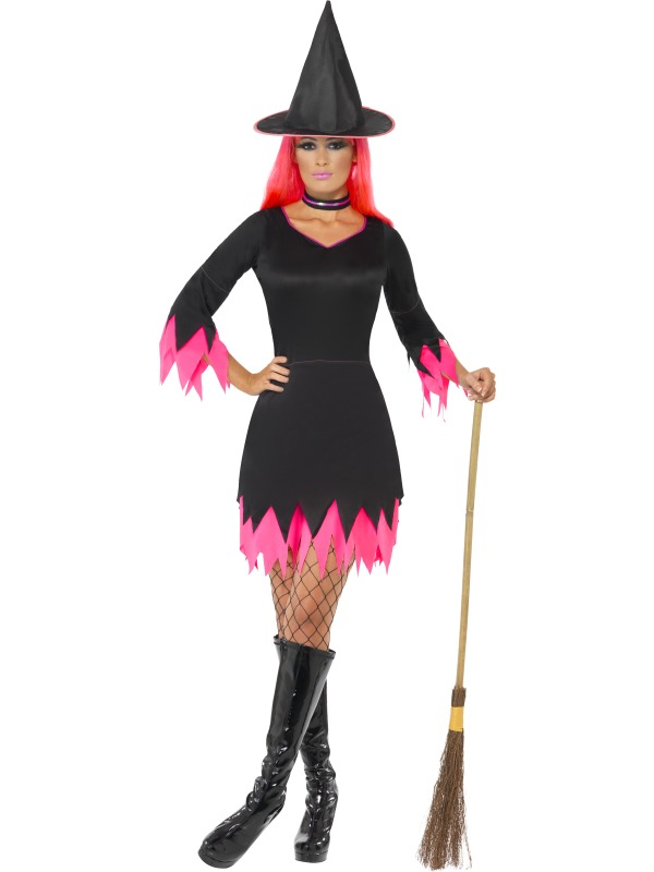 Witch Costume Back and Pink
