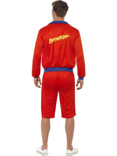 Baywatch Beach Men's Lifeguard Costume Thumbnail 2