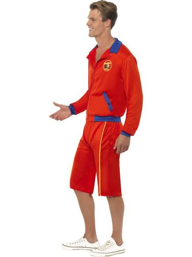 Baywatch Beach Men's Lifeguard Costume Thumbnail 3