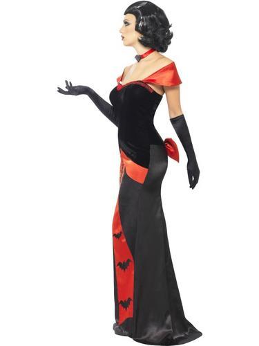 Glam Vampiress Costume Thumbnail 3