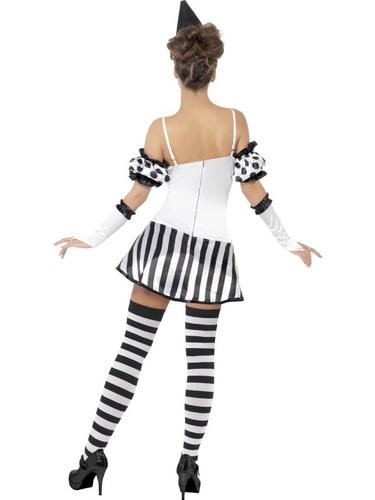 Fever Clown Mime Diva Costume Thumbnail 3