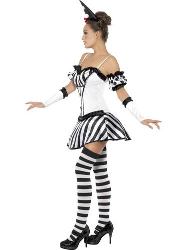 Fever Clown Mime Diva Costume Thumbnail 4