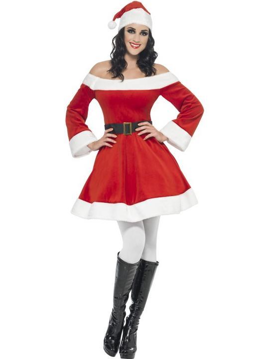 Miss Santa Costume Thumbnail 1