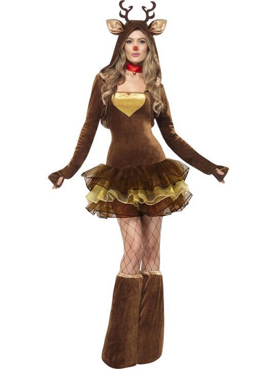 Fever Reindeer Costume Thumbnail 1