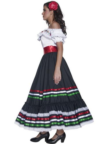Authentic Western Sexy Senorita Costume Thumbnail 3