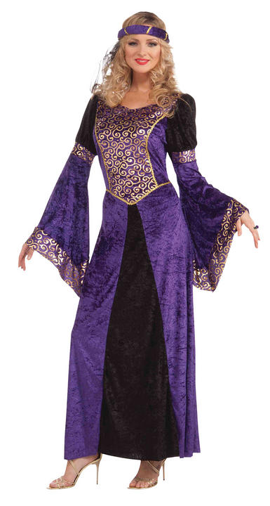 Adult Medieval Maiden Costume Thumbnail 1