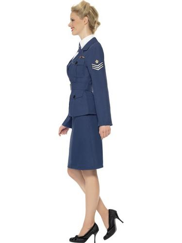 WW2 Air Force Female Captain Thumbnail 3