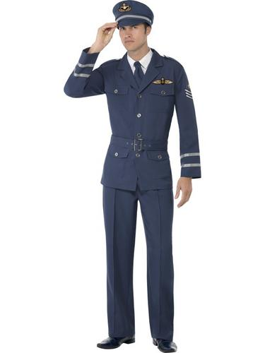 WW2 Air Force Captain Costume Thumbnail 1