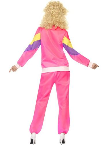 80's Height of Fashion Shell Suit Costume Female Thumbnail 2
