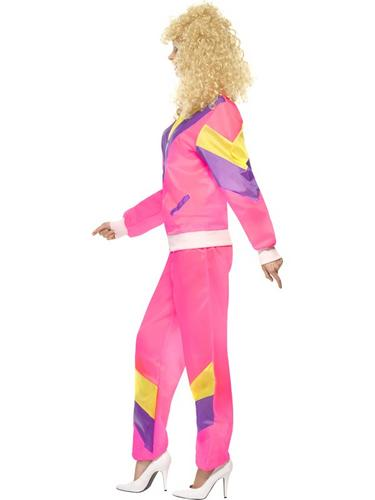 80's Height of Fashion Shell Suit Costume Female Thumbnail 3